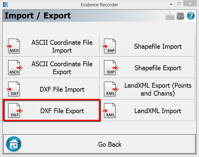 DXF Export
